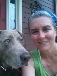 Stella and Me after a Run