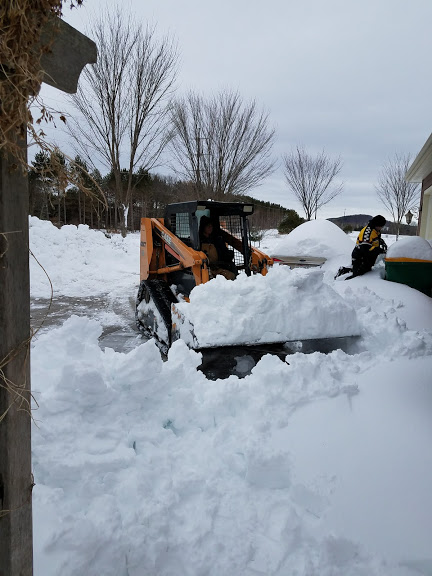 Skid steer to the rescue